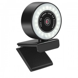 Camera web iUni PC10i, Full HD, 1080p, Rotire 360°, Microfon, USB 2.0, Plug & Play