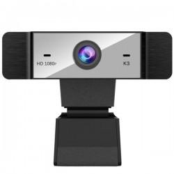 Camera web iUni K3, Full HD, 1080p, Microfon, USB 2.0