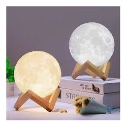 Lampa 3D In Forma De Luna Moon Lamp