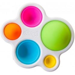 Dimple Toy Jucarie Senzoriala din silicon pentru Educatia Bebelusilor