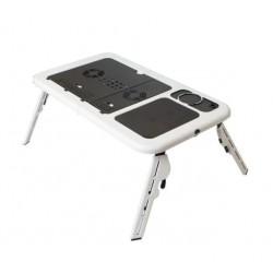 Masa Laptop E-Table, Suport USB, 2 Coolere