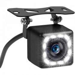 Camera Marsarier Techstar® 12L, Iluminare LED, HD, Pentru Navigatii Auto, Conectiune AV, Rezistenta la APA si PRAF, IP66