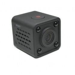 Camera Supraveghere IP Super Mini, Techstar® HDQ9, Wireless, FULL HD, 1080P, MicroSD, Detectare Miscare, Night Vision