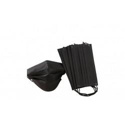 Set de 50 de Masti Protectie Negre,Non Medical,3 Pliuri de unica folosinta, Negre,Calitate Premium,Made in Ro