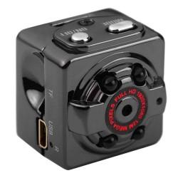 Camera Supraveghere Techstar® SQ8, Super Mini, Inregistrare HD, 720P, MicroSD, Detectare Miscare, Night Vision Infrarosu