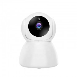 Camera Supraveghere IP, Techstar® V50, Wireless, Inregistrare HD, 1080P, MicroSD, Detectare Miscare, Control Aplicatie