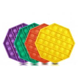 Pachet Promo- Jucarie Senzoriala, Antistres, Interactiva, Pop It, Bubble, Octagon, Set 4 Bucati