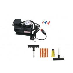 Kit Pana Auto,Kit Vulcanizare,Reparare Anvelope ,Compresor Umflat Roti,Calitate Premium