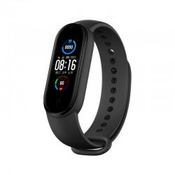 "Bratara Fitness Techstar® M5, Ecran 1.14"" inch TFT, Bluetooth 4.0, IP66, Tensiune, Puls, Oximetru, Alerta Sedentarism, Negru"