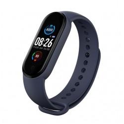 "Bratara Fitness Techstar® M5, Ecran 0.96"" inch TFT, Bluetooth 4.0, IP66, Tensiune, Puls, Oximetru, Alerta Sedentarism, Albastru"