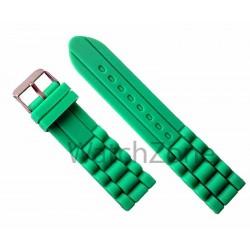 Curea Ceas Silicon Verde 22mm