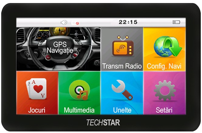 GPS Auto Techstar Basic 4.3