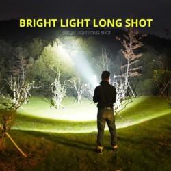 Lanterna Profesionala LED Ultra Luminoasa, WATERPROOF, ZOOM Puternic, 3 Moduri de Lumina + Cutie ANTISHOCK