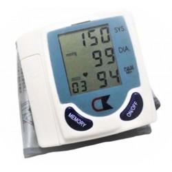 Tensiometru de Incheietura Pentru Masurarea Tensiunii Arteriale si Pulsului, Afisaj LCD HD, Cutie Depozitare