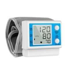 Tensiometru de Incheietura Pentru Masurarea Tensiunii Arteriale si Pulsului, Afisaj LCD, Design Ergonomic