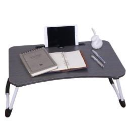 Masuta pliabila suport laptop,tableta ideal scoala online ,persoane cu dizabilitati,Calitate Premium,Negru
