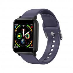 Ceas Smartwatch Techstar® R16, 1.3 inch IPS, Bluetooth 4.0 + EDR, Monitorizare Tensiune, Puls, Pasometru, Albastru