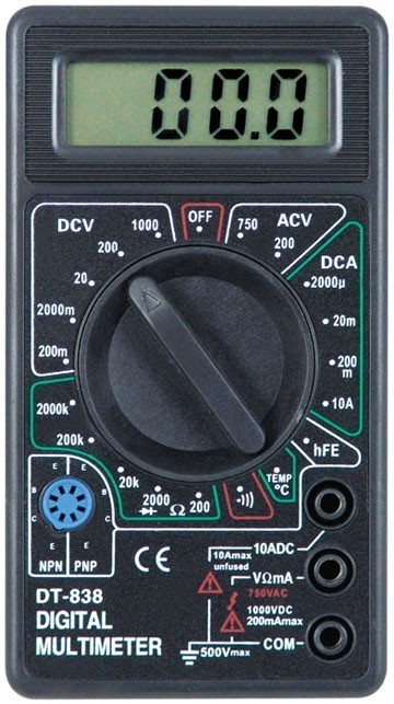 Multimetru Digital DT-838 imagine techstar.ro 2021