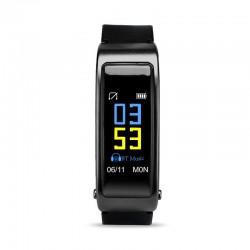 "Bratara Fitness Techstar Y3 Plus, 0.96"" inch, 2in1, Casca Wireless, Bluetooth 4.1, Senzor Tensiune, Puls, Oximetru, Monitorizare Somn, Apeluri, Gri"