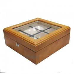 Cutie depozitare 6 ceasuri LEMN RESIGILAT