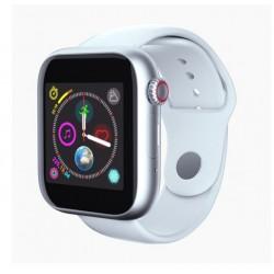 Ceas Smartwatch Techstar® Z6, 1.54inch IPS LCD, Bluetooth 3.0 + EDR, Cartela SIM, MicroSD, Monitorizare Somn, Alb