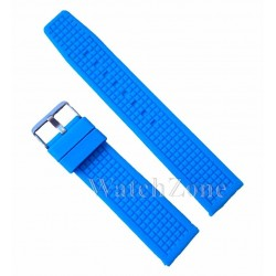 Curea Ceas Silicon Albastra 22mm
