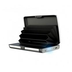 Portofel Carduri securizat RFID si Incarcator Baterie Externa 2in1 E-Charge Wallet