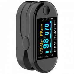 Pulsoximetru digital iUni V10, Pulsometru, Rata pulsului, Indica nivelul de saturatie a oxigenului din sange