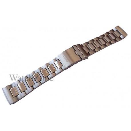 Brata Ceas D&G 22mm Argintie
