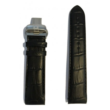 Curea Ceas Tissot 23-20 23mm Neagra