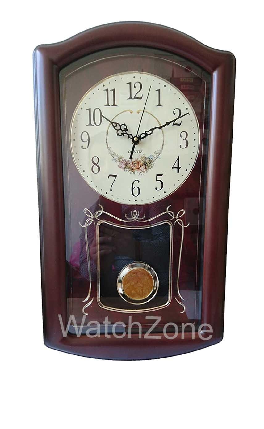 Ceas de Perete cu Pendula WallClock Elegance TLD-8390 imagine techstar.ro 2021