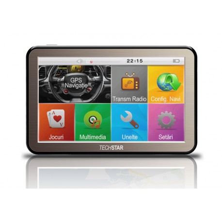 "GPS Auto Techstar NView 5"" HD"