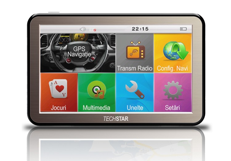 GPS Auto Techstar NView 5 HD