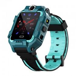 Ceas Smartwatch Copii Techstar® Y99, 1.40 inch IPS, Cartela SIM 4G LTE, Tracker GPS+AGPS+LBS+WIFI, Buton SOS, Apelare Video, Verde