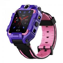 Ceas Smartwatch Copii Techstar® Y99, 1.40 inch IPS, Cartela SIM 4G LTE, Tracker GPS, AGPS, LBS, WIFI, Buton SOS, Apelare Video, Mov