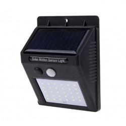 Set 2 Lampi cu LED, incarcare solara si senzor de miscare, 30 LED