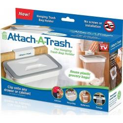 Suport cu capac pentru sacul de gunoi Attach A Trash