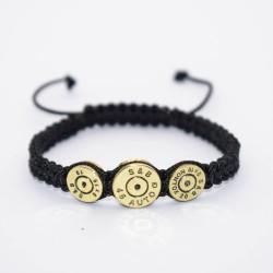 Bratara Mana Ultra Bullet HandMade,Cadou Vanator,Pasionati Bullet,Cartuse 9mm,45mm.Calitate Superioara