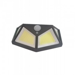 Lampa Solara De Exterior 80LED, 1W, Senzor Miscare, Lumina Rece