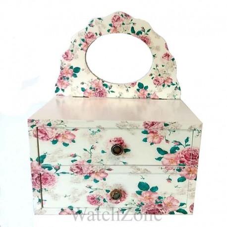 Caseta Bijuterii Lily Rose cu Oglinda WZ1494