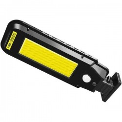 Lampa LED De Exterior Cu Panou Solar Pentru Incarcare 60w, Cu Senzor De Miscare, cu telecomanda