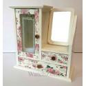 Caseta Bijuterii din Lemn Sarah Jane WZ1497