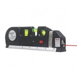 Nivela Multifunctionala cu Laser Level PR10, Ruleta integrata,Lasar,Boloboc,,Rigla,Baterii