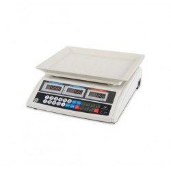 Cantar Electronic cu Acumulator, Afisaj Digital LCD, Ecran Luminat, Capacitate 40kg