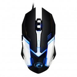 Mouse Gaming Techstar® iMice V6, Wireless, 2400 DPI, Ergonomic, 6 Butoane, RGB, USB