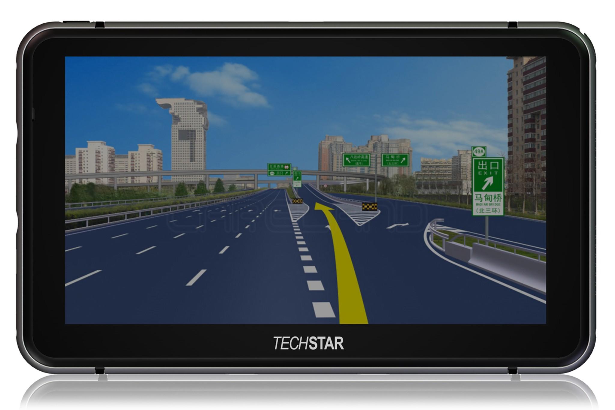 GPS Auto Techstar 7 Premium+ 8GB 256ram