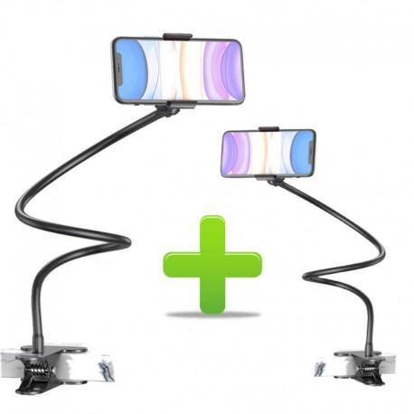 Super Promotie 1+1 Cadou Suport, Brat Flexibil, Pentru Telefon Rotire 360, Prindere Clema