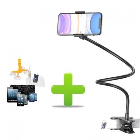 Reparatie Sticla Kit Reparatie Ecran Telefon,Tableta,+ Cadou Brat Flexibil pentru Telefon, Rotire 360