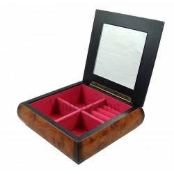 Caseta de bijuterii din lemn VINTAGE FLOWER WZ1600