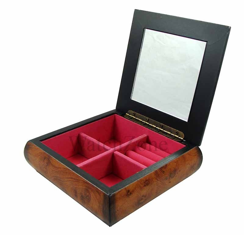 Caseta de bijuterii din lemn VINTAGE FLOWER WZ1600 imagine techstar.ro 2021
